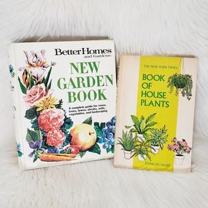 Vintage Gardening Books 1970's Plants Guide 2